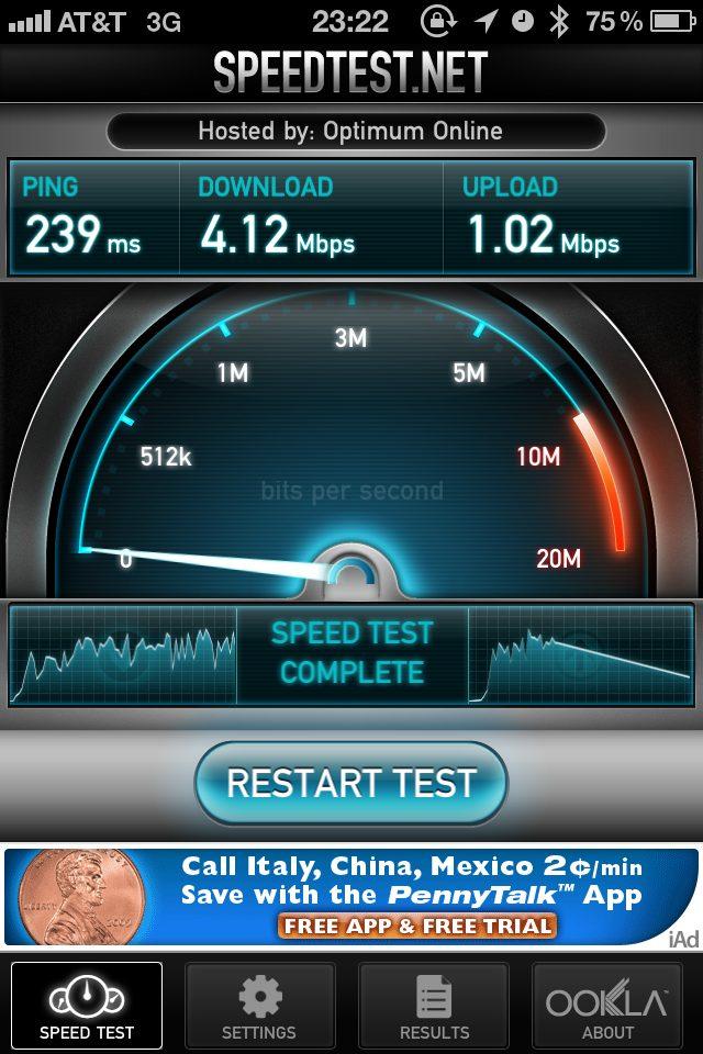 Iphone Ookla Speedtest Att Jeffrey Donenfeld