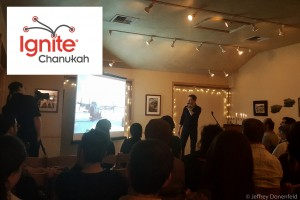 "Speaking at Ignite Chanukah 2016 – ""The Frozen Chosen: Jews in Antarctica"""